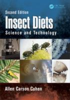 new book, title: Insect diets [electronic resource] : science and technology / Allen Carson Cohen, North Carolina State University, Insect Rearing Education & Research Program.