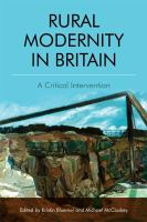 new book, title: Rural Modernity in Britain [electronic resource] : A Critical Intervention / Bluemel, Kristin.