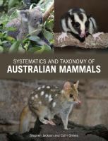 new book, title: Taxonomy of Australian mammals [electronic resource] / Stephen Jackson and Colin Groves.