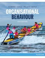 new book, title: Organisational Behaviour eBook [electronic resource] / Robbins, Stephen.