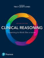 new book, title: Clinical Reasoning eBook [electronic resource] / Levett-Jones, Tracy.
