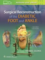 new book, title: Surgical reconstruction of the diabetic foot and ankle [electronic resource] / editor, Thomas Zgonis, DPM, FACFAS, Professor and Director, Externship and Reconstructive Foot and Ankle Fellowship Programs, Division of Podiatric Medicine and Surgery, Department of Orthopaedics, UT Health San Antonio Long School of Medicine, San Antonio, Texas.