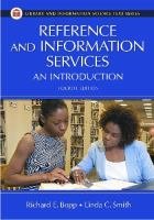 new book, title: Reference and information services [electronic resource] : an introduction / Richard E. Bopp and Linda C. Smith, editors.