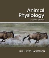 new book, title: Animal physiology / Richard W. Hill, Michigan State University, Gordon A. Wyse, University of Massachusetts, Amherst, Margaret Anderson, Smith College.