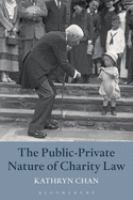 new book, title: The public-private nature of charity law / Kathryn Chan.