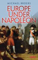 new book, title: Europe under Napoleon [electronic resource]