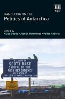 new book, title: Handbook on the Politics of Antarctica [electronic resource]