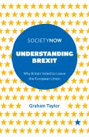 new book, title: Understanding Brexit [electronic resource]