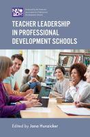 new book, title: Teacher Leadership in Professional Development Schools [electronic resource]