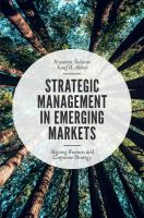 new book, title: Strategic Management in Emerging Markets [electronic resource] : Aligning Business and Corporate Strategy / Todorov, Krassimir.