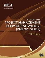 new book, title: A guide to the project management body of knowledge (PMBOK guide).
