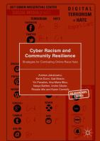 new book, title: Cyber Racism and Community Resilience [electronic resource]: Strategies for Combating Online Race Hate