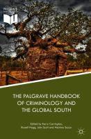 new book, title: Palgrave Handbook of Criminology and the Global South [electronic resource] / Carrington, Kerry ... [et. al.].