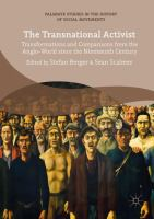 new book, title: The Transnational Activist [electronic resource]: Transformations and Comparisons from the Anglo-World since the Nineteenth Century