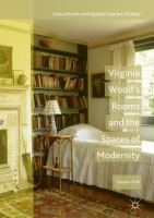new book, title: Virginia Woolf's Rooms and the Spaces of Modernity [electronic resource]