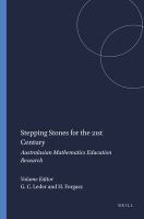 new book, title: Stepping stones for the 21st century : Australasian mathematics education research / edited by Gilah C. Ledder and Helen J. Forgasz.
