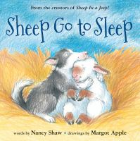 book jacket for Sheep Go to Sleep