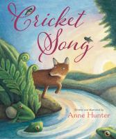 book jacket for Cricket Song