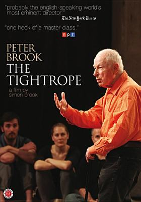 cover of Peter Brook: The Tightrope