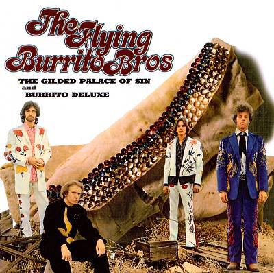 cover of Gilded Palace of Sin / The Burrito Deluxe