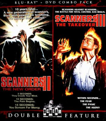 cover of Scanners II: The New Order / Scanners III: The Take Over [Blu-ray]