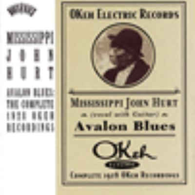 cover of Avalon Blues: Complete 1928 Okeh Recordings