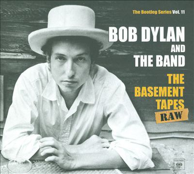 cover of The Basement Tapes Raw