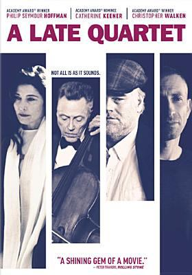 Cover image for A late Quartet