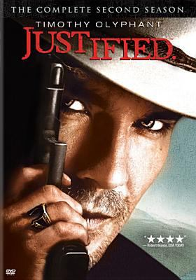 Cover image for Justified. the complete second season. 