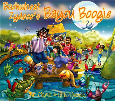 Cover image for Buckwheat Zydeco's bayou boogie