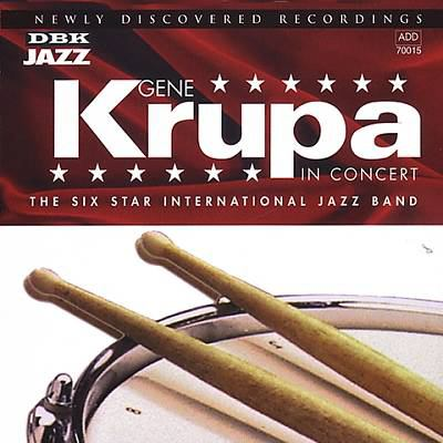 Cover image for Gene Krupa in concert 