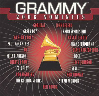 Cover image for Grammy 2006 nominees