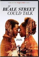 If Beale Street Could Talk (dvd cover)