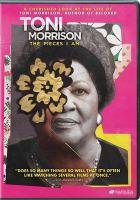 Toni Morrison: The PIeces I Am (dvd cover)