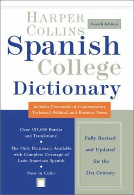 Cover of Harper Collins Spanish College Dictionary