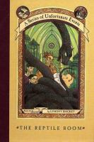 The+reptile+room by Snicket, Lemony © 1999 (Added: 5/18/17)