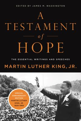 Cover image for A testament of hope