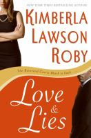cover of Love and Lies