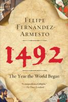 1492 : the year the world began