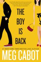 The Boy Is Back by Cabot, Meg © 2016 (Added: 10/18/16)