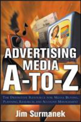Advertising Media A-Z Cover