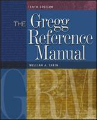 Book cover of Gregg Reference Manual