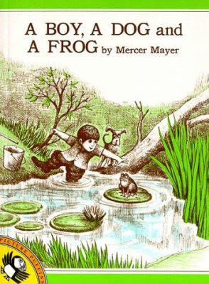Book Cover: A boy, a dog and a frog