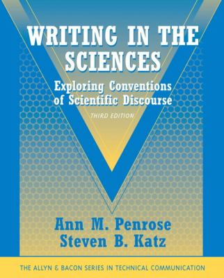 book cover of Writing in the Sciences