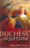 cover of Duchess of Aquitaine