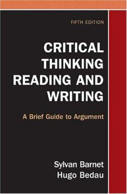 Book cover of Critical Thinking, Reading, and Writing