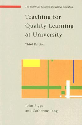 Front Cover of Teaching for Quality Learning at University