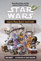 the cover of Star Wars Galactic Phrase Book & Travel Guide: A Language Guide to the Galaxy