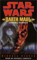 the cover of Darth Maul: Shadow Hunter