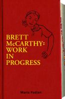 Brett McCarthy catalog link